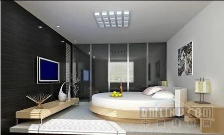 5款特别造型的卧室装修 以床为中心