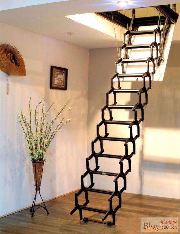 口碑最好阁楼伸缩楼梯厂家 上海阁楼楼梯