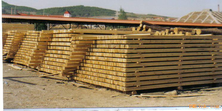 樟子松防腐木胚料专业木材加工厂
