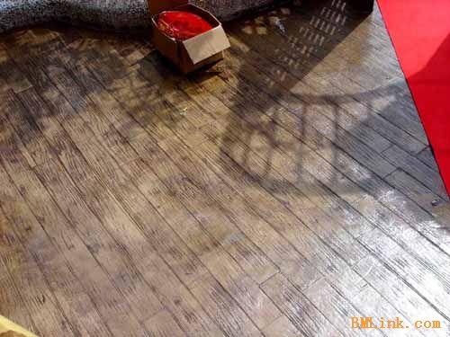 供应仿木纹压印地坪材料,仿木纹压印施工