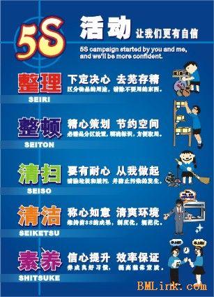 供应5s标语5s海报5s挂图/宣传画