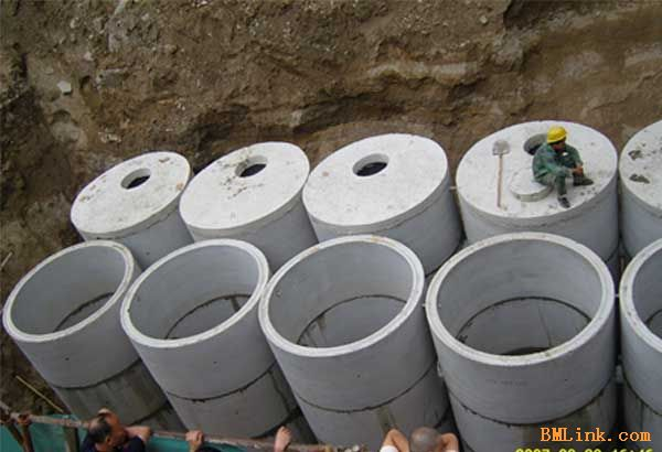 供应高品质低价格组合式预制混凝土化粪池