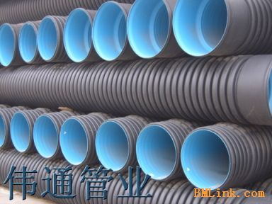 upvc双壁波纹排水管-供应HDPE双壁波纹管