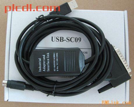 供应三菱USB接口PLC编程电缆