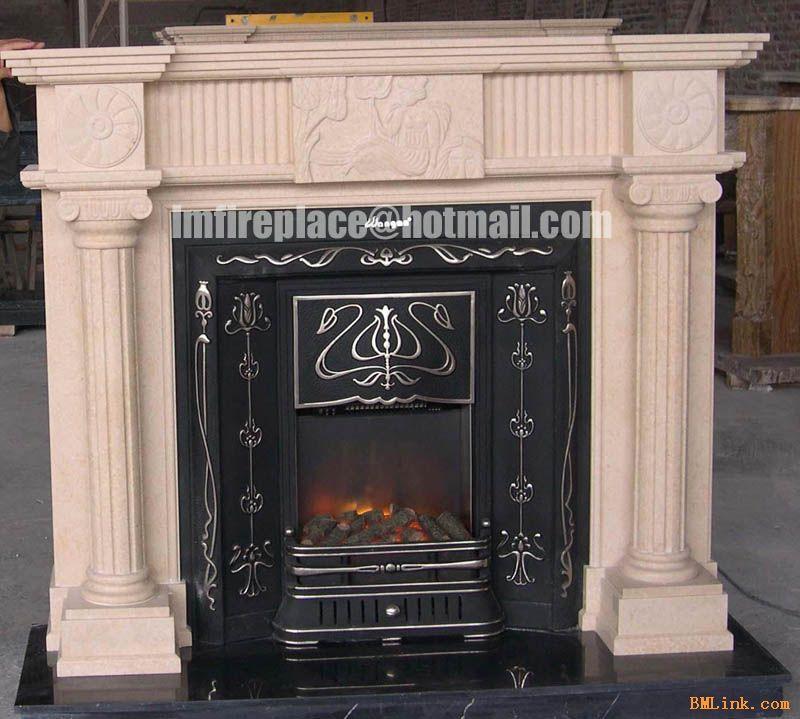 供应欧式大理石艺术壁炉fireplace