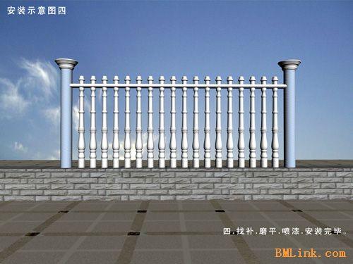 供应科创艺术围栏 水泥围栏 艺术围栏生产设备