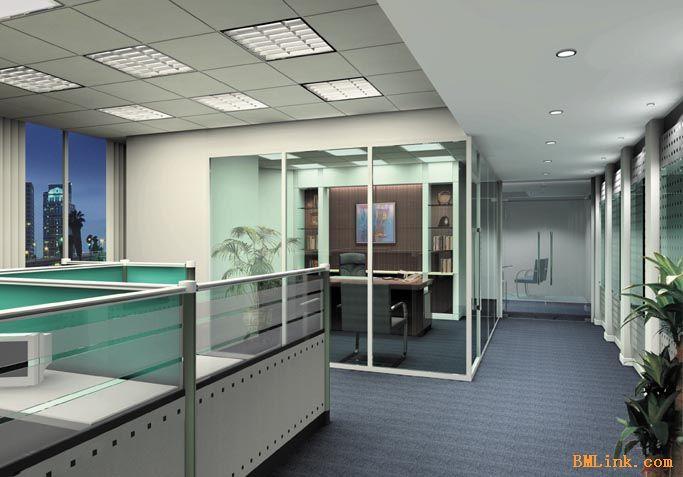 苏州厂房装修 办公室吊顶 隔断