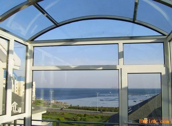 供应断桥铝门窗塑钢门窗玻璃阳光房
