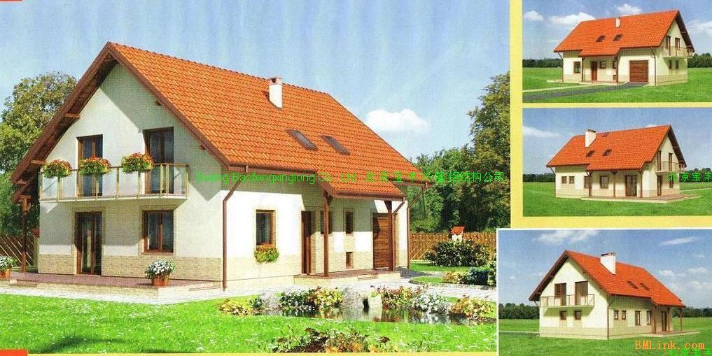 qq照片墙风景图片房子