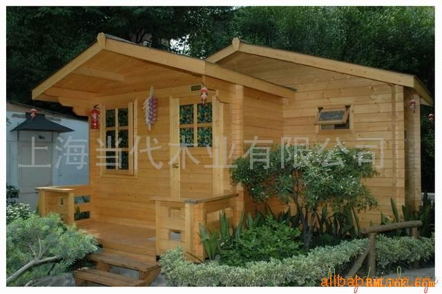 应小木屋 木屋别墅 木结构房屋