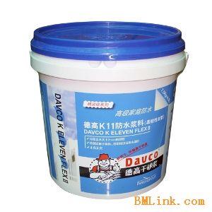 供应德高柔韧性K11防水浆料图片