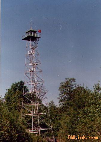 监视塔监控塔铁塔制造