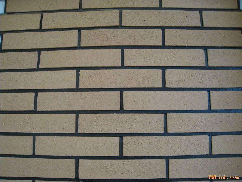 手工古 陶砖 长条砖 陶土外墙砖 效果图,产品