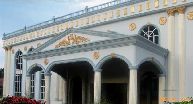欧式拱门各构件名称