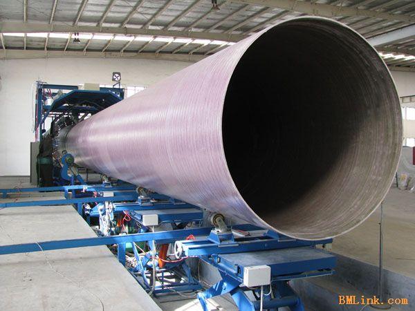 供应连续缠绕玻璃钢管道设备