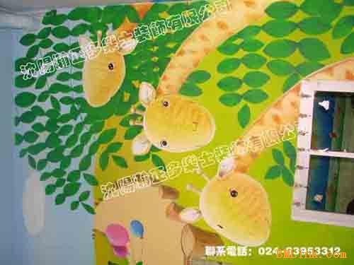 幼儿园场景简笔画