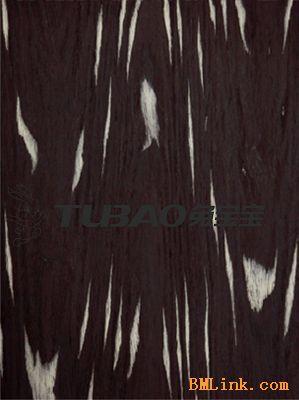 兔宝宝高档特种材木皮-黑白树根
