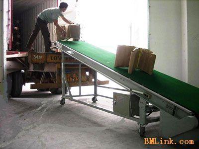 供应云浮订做装车输送机,纸箱装卸机