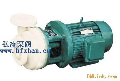 供应化工泵厂家:PF型强耐腐蚀聚丙烯离心泵