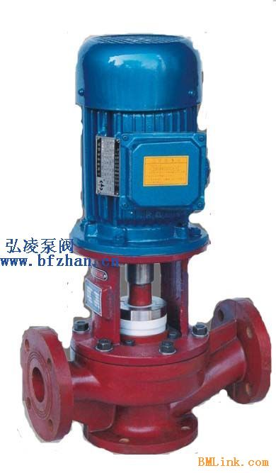 供应化工泵厂家:SL型耐腐蚀玻璃钢管道泵