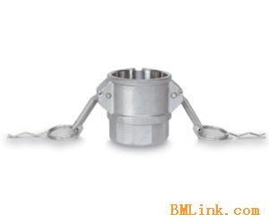 不锈钢快速接头D型1/2寸3/4寸快装石油化工罐车内丝母接头