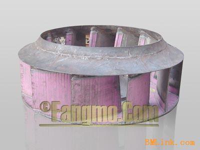 耐磨陶瓷风机叶轮