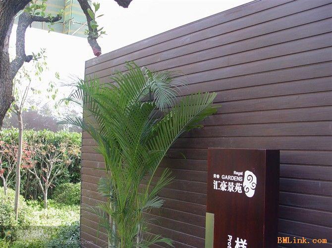 木塑墙板  塑木墙板  绿可木墙板
