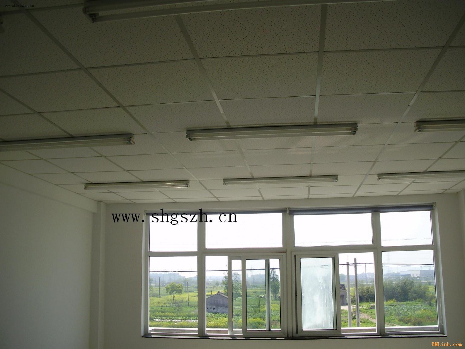 厂房烤漆龙骨矿棉板吊顶装修