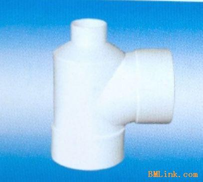 供应UPVC排水管件 瓶径三通