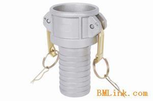 铝合金快速接头C型1/2寸3/4寸油罐车洒水车快装软管接头