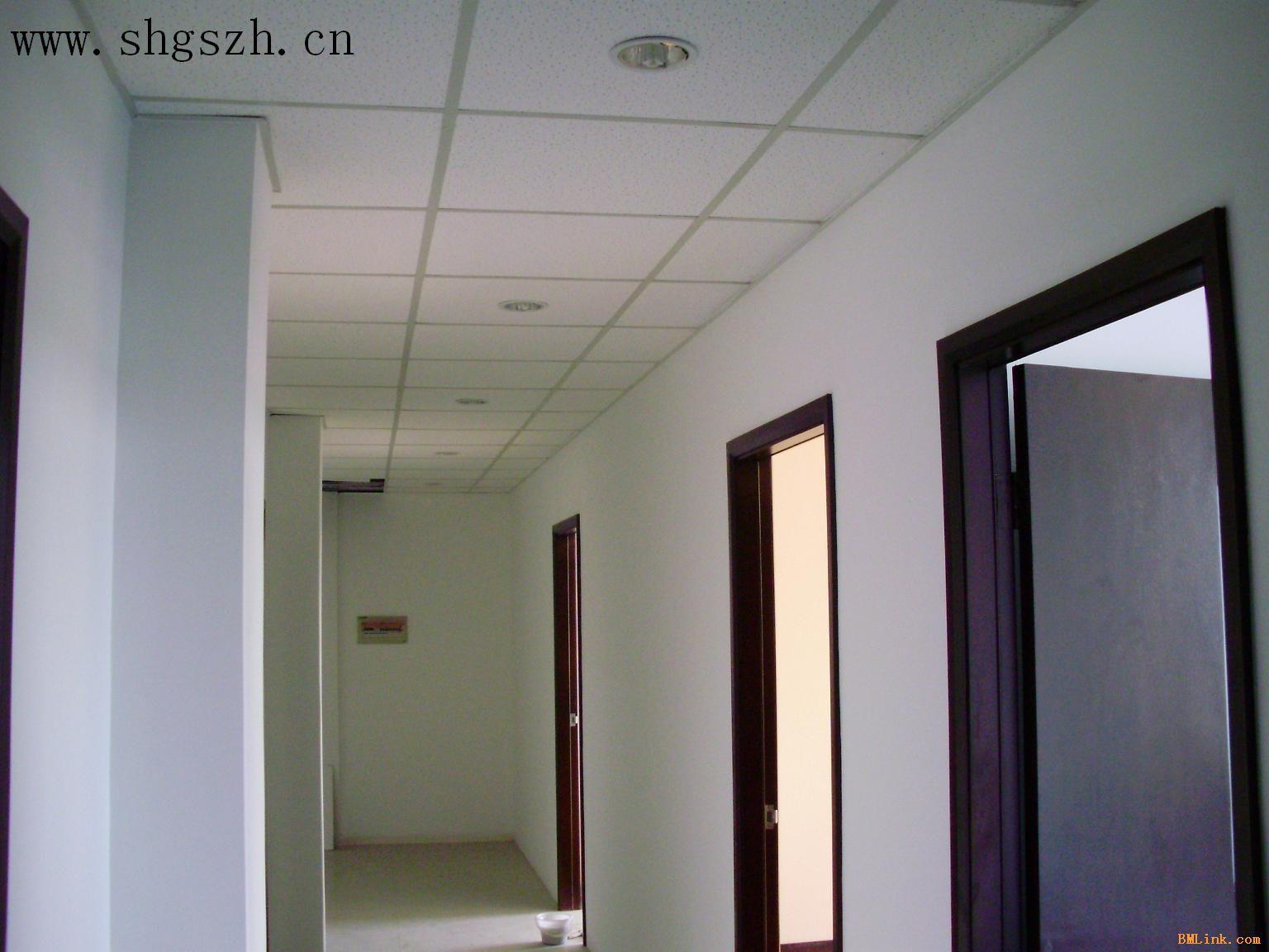 压花石膏板(硅钙板)吊顶装修