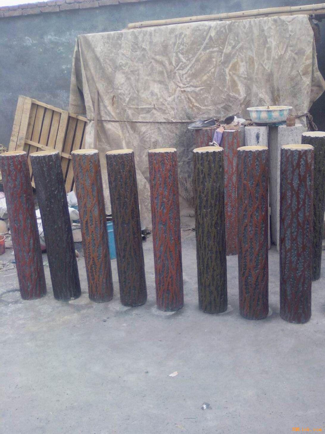 根雕),平板凳,圆木凳,休闲椅,仿木栏杆,仿木花架,仿木亭,标识牌,垃圾