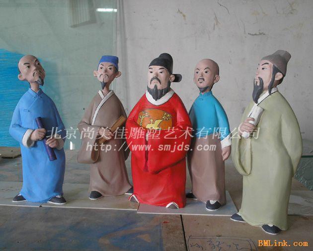 供应泡沫石膏树脂雕塑 圣诞老人泡沫雕塑制作工艺饰品