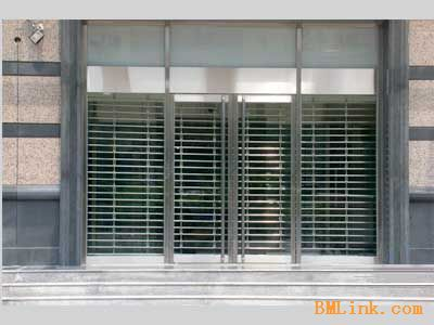 不锈钢边框玻璃自动门杭州传俊门控材料