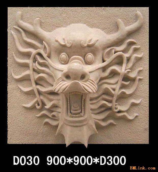 供应砂岩雕塑喷水龙头