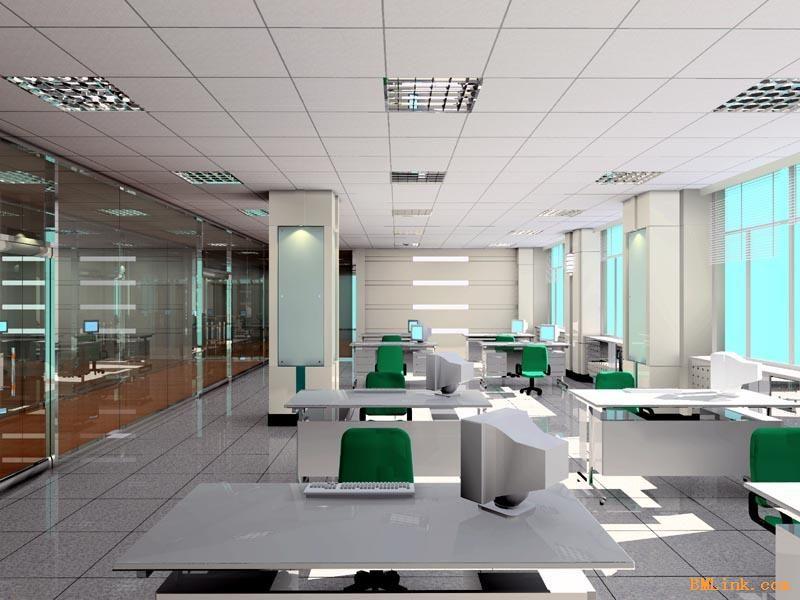 專業承接廠房吊頂隔墻辦公樓裝修工程-【效果圖,產品