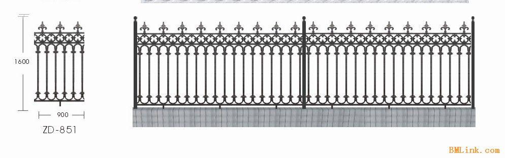 栅栏矢量图   免费
