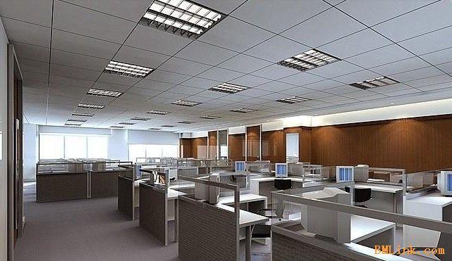 办公室装修,厂房矿棉板吊顶隔断