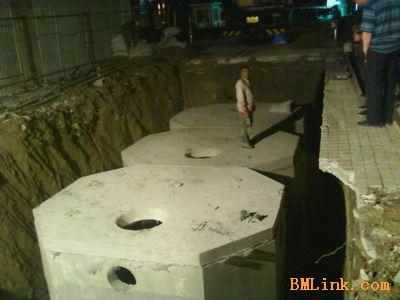 供应50立方钢筋混凝土预制化粪池