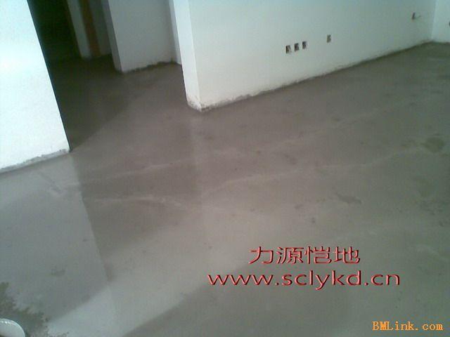 成都家装地板地毯PVC地板找平 水泥自流平 找平层