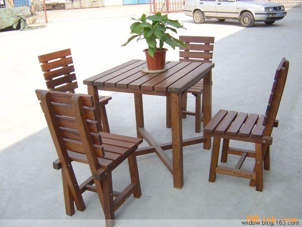 无锡户外休闲桌椅-【效果图