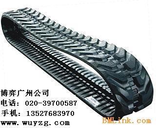 供应农用拖拉机橡胶履带,农用收割机橡胶履带