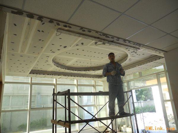 硅酸钙板吊顶tk板吊顶石膏板隔断轻钢龙骨隔断墙上海