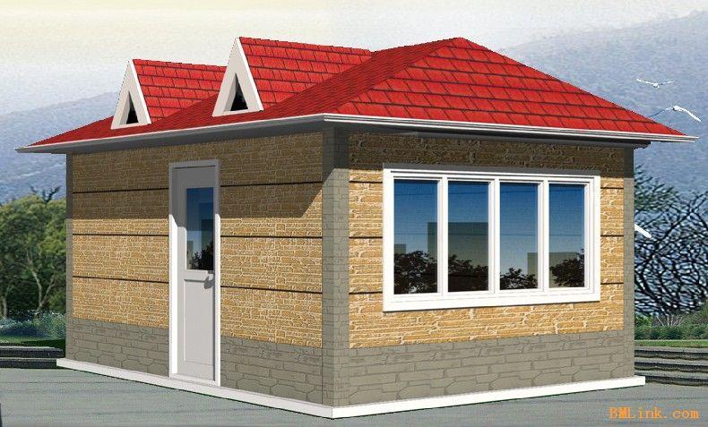 钢构房屋设计图