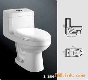 供应节水新款坐便器,马桶,坐厕,卫浴,洁具,卫生陶瓷 四季沐歌卫