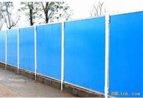 工地围挡瓦型号_彩钢围挡、施工围栏、夹芯围墙【效果图产品