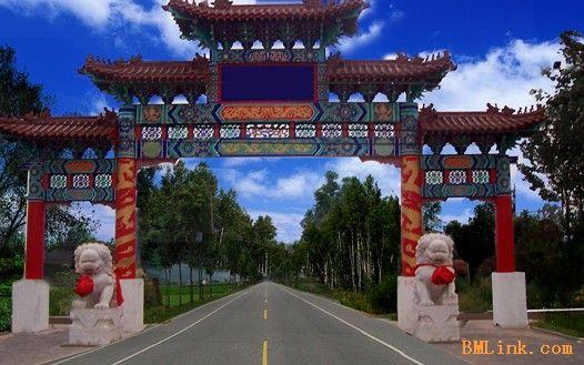 供应北京古建公司仿古牌楼牌坊