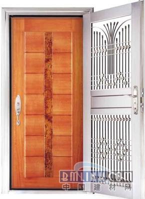 九江优质品牌防火防盗入户门一框两门