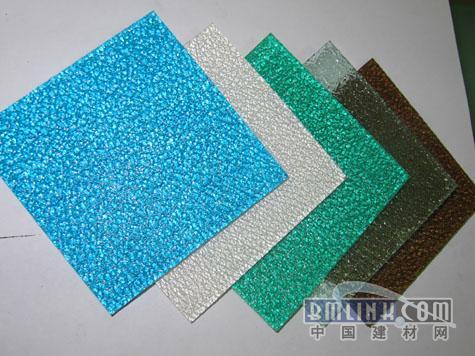 国内独家优质散光板颗粒板磨砂板直销