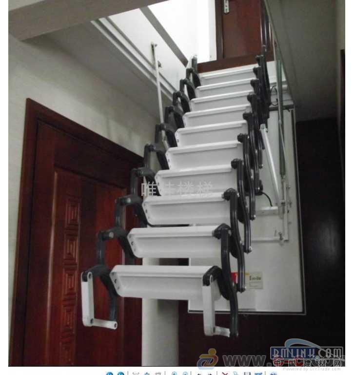 全自动阁楼楼梯价格 诚信阁楼伸缩楼梯厂家